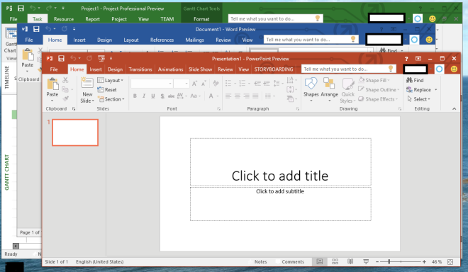 Microsoft Office 2016 Design